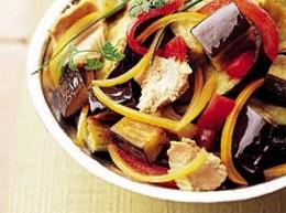 Salade-d-aubergines-et-thon