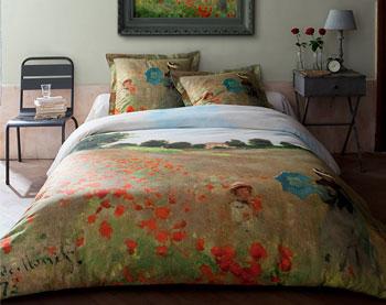 parure de lit Monet